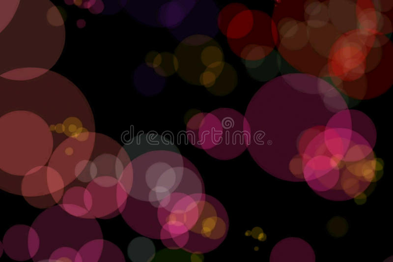 Christmas red sparkle background with colorful bokeh, xmas holiday happy new year vector illustration