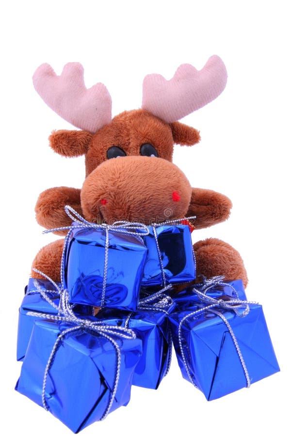 Download Christmas reindeer stock image. Image of holidays, single - 7412999
