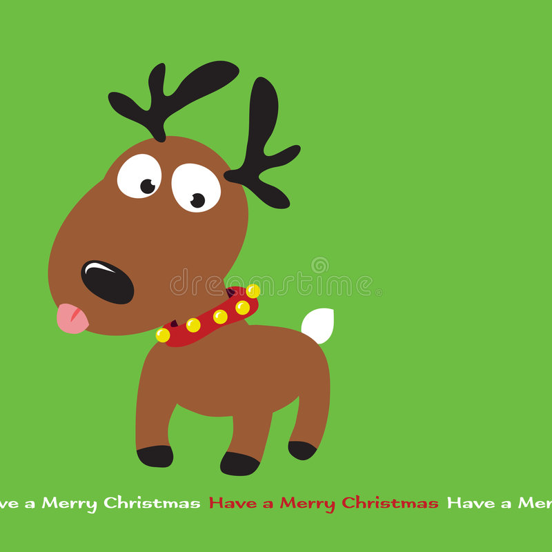 Free Christmas Reindeer Royalty Free Stock Photography - 8468657