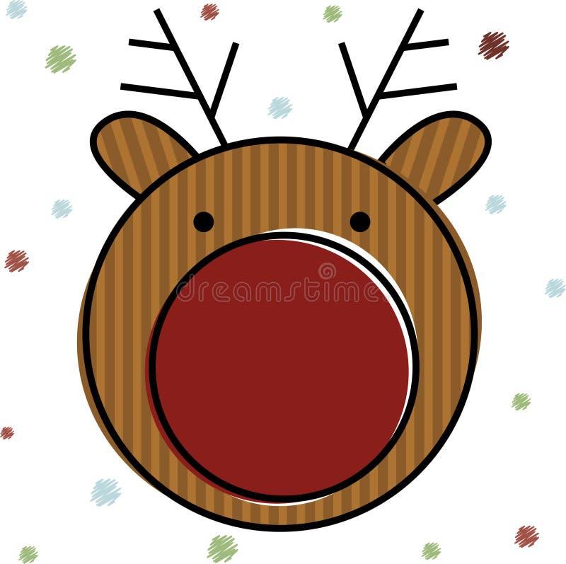 Christmas Reindeer . Vector Illustration Stock Vector ...