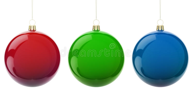 Christmas Rgb Balls Stock Illustration Illustration Of Merry 11184599