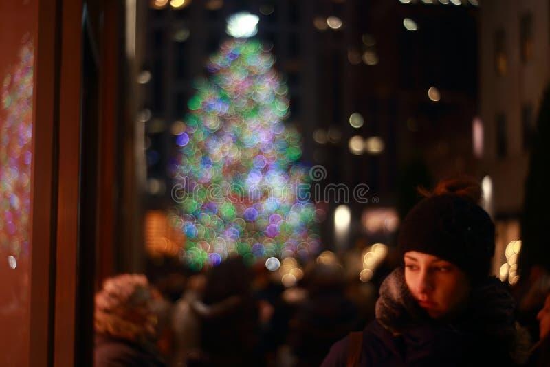 Christmas at Rockefeller royalty free stock photos