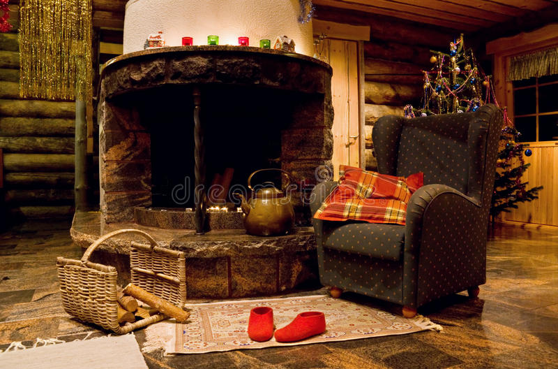 Christmas Room royalty free stock photo