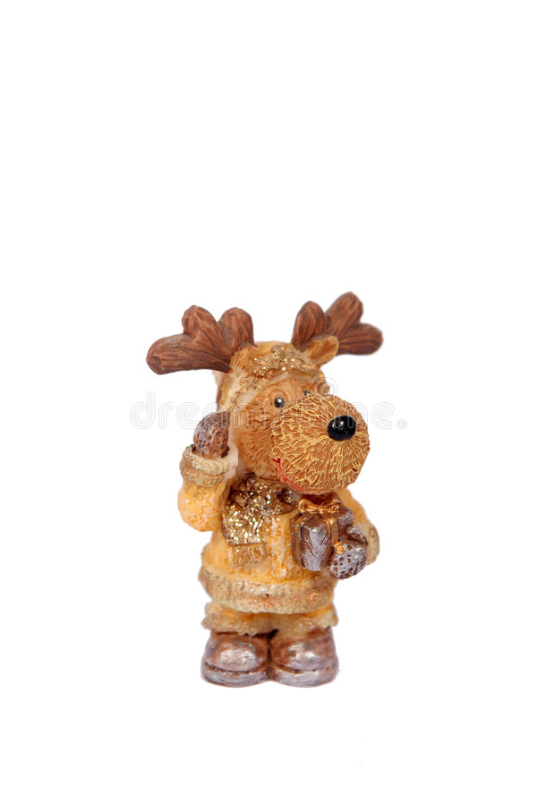 Christmas rudolf stock photography
