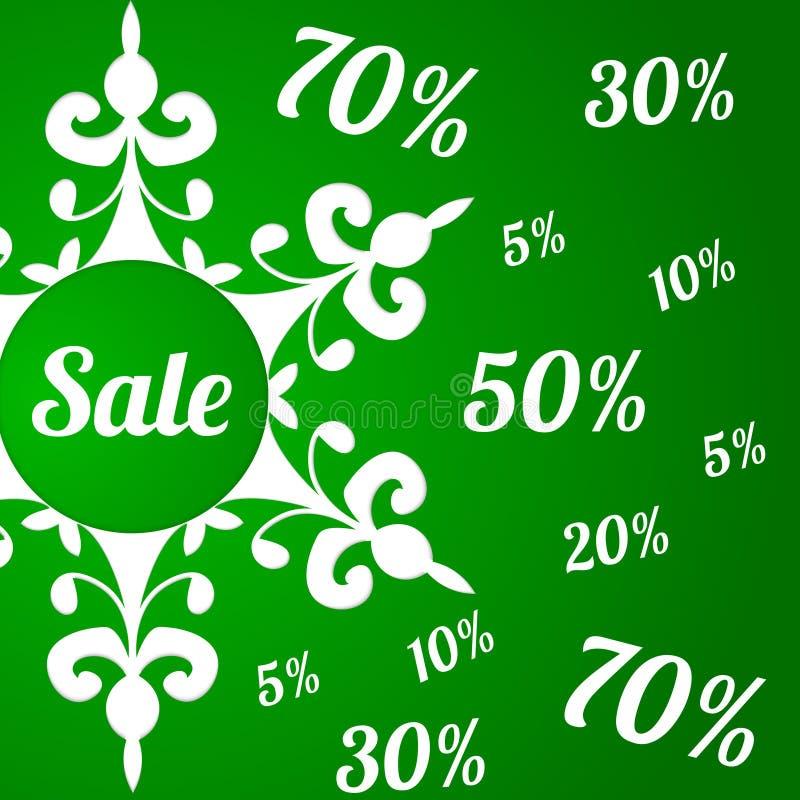 Christmas sale background. vector illustration