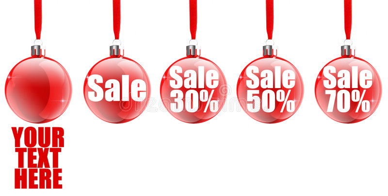Download Christmas Sale Icon stock illustration. Illustration of corporate - 6840592