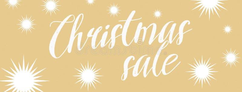 Christmas sale royalty free stock photo