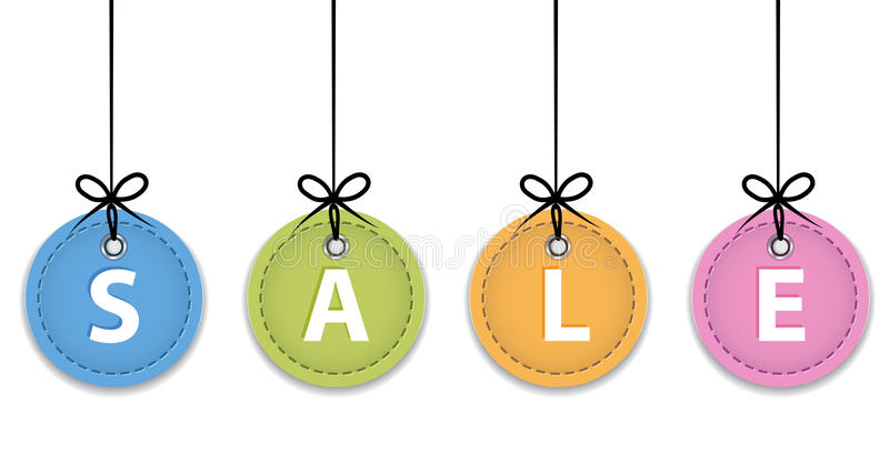 Download Christmas Sale Labels Royalty Free Stock Photography - Image: 27615957