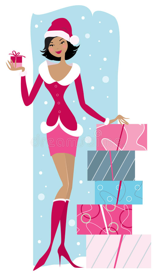 Christmas sales royalty free illustration