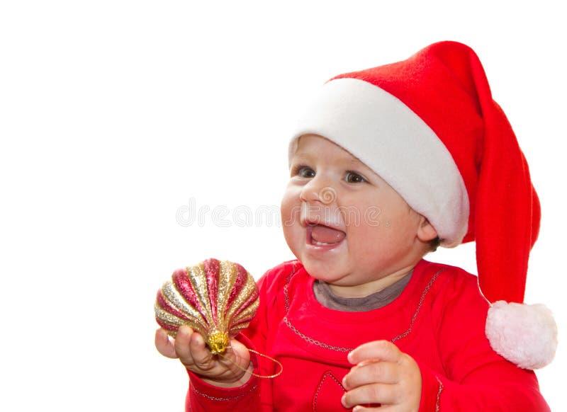 Download Christmas Santa Baby stock photo. Image of eyes, christmas - 26932644