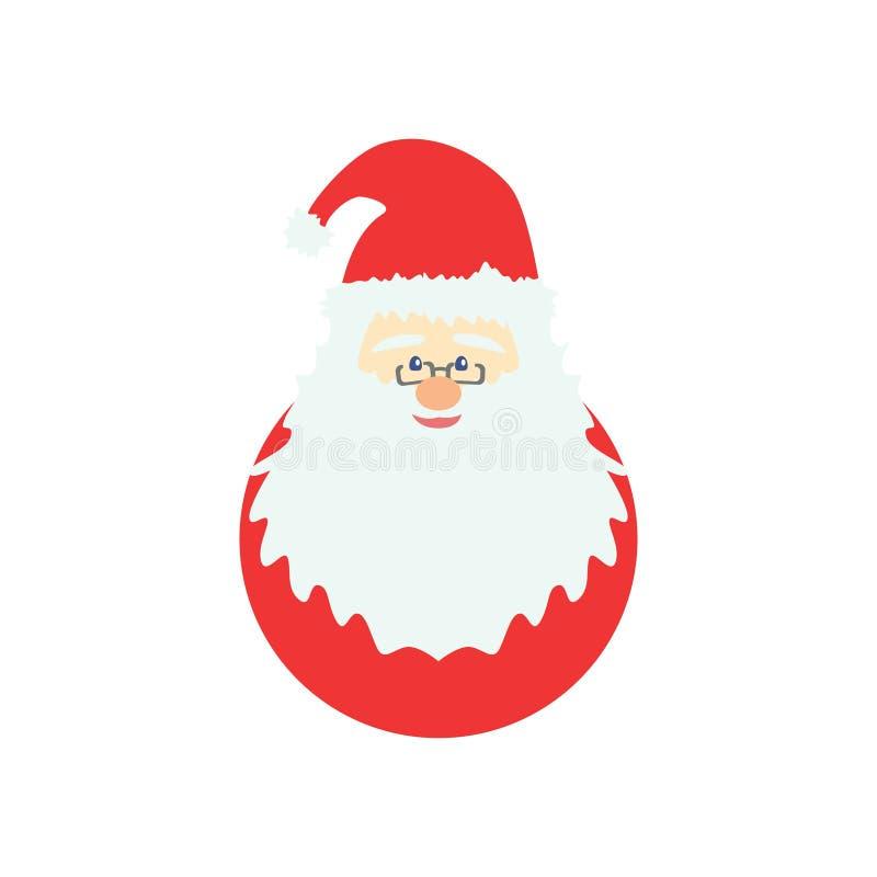 Christmas Santa Claus Cartoon Cute v1 stock photo