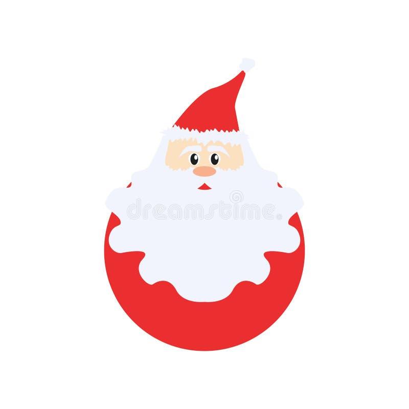 Christmas Santa Claus Cartoon Cute v1 stock photography