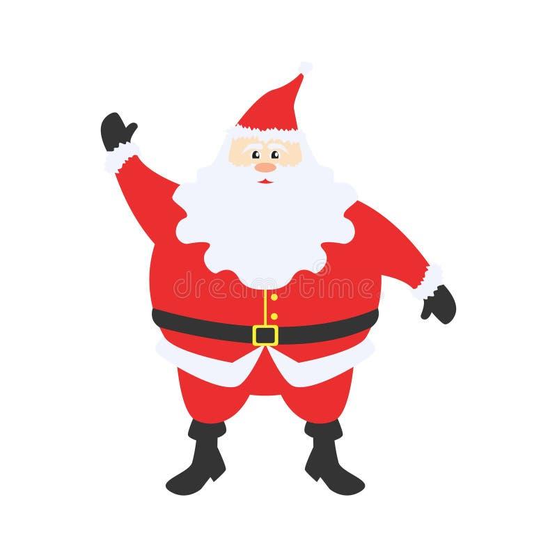 Christmas Santa Claus Cartoon Cute v1 stock image