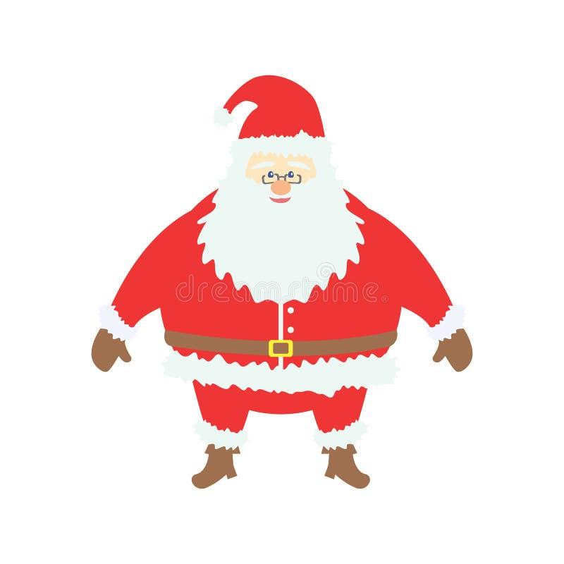 Christmas Santa Claus Cartoon Cute v1 stock photos