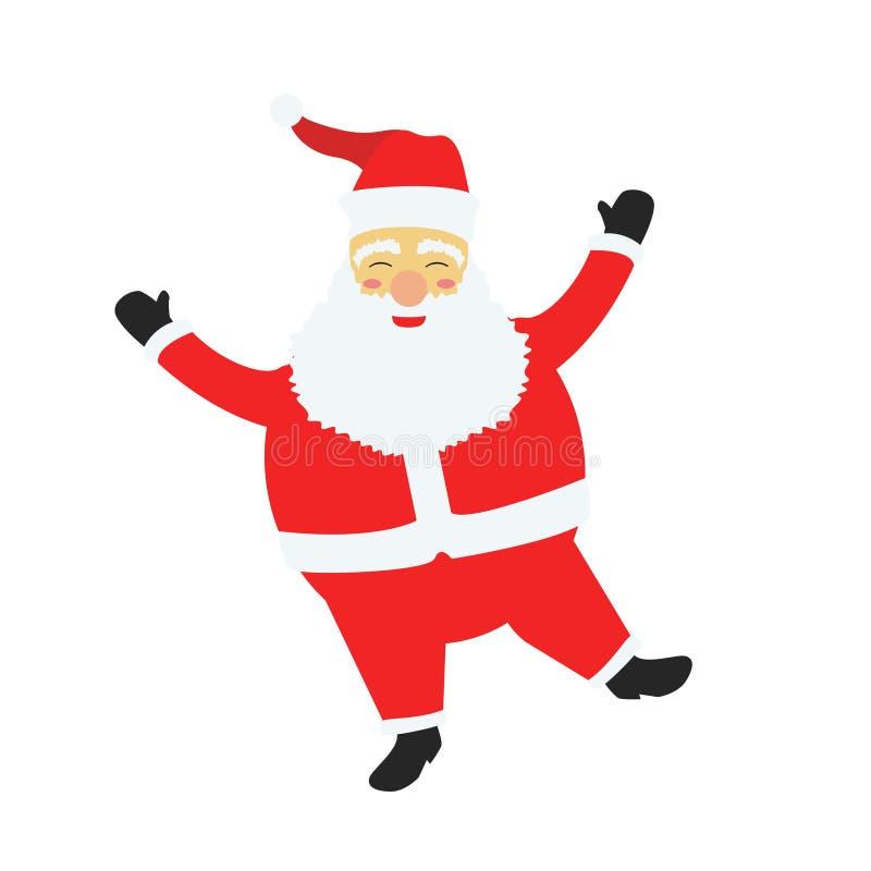 Christmas Santa Claus Cartoon Cute v1 royalty free stock photos
