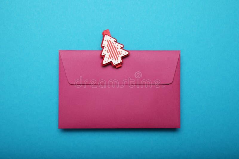 Christmas Santa Claus letter, paper.  stock images