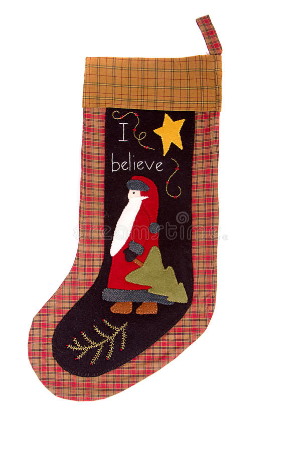 Christmas santa claus Stocking stock photography