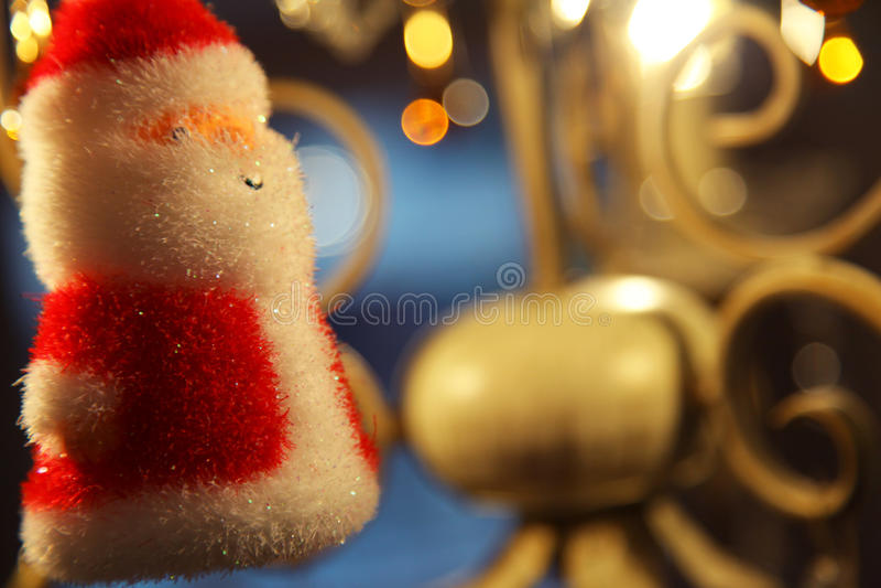 Christmas santa decoration royalty free stock photos