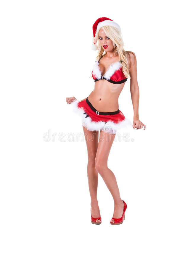 Download Christmas Santa Helper stock image. Image of woman, santa - 6704921
