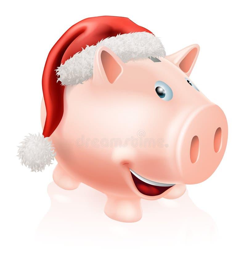 Download Christmas Savings Piggy Bank Stock Vector - Image: 31003474