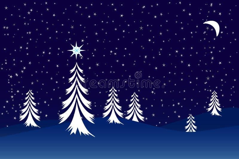 Download Christmas scene stock vector. Image of design, greeting - 6588809