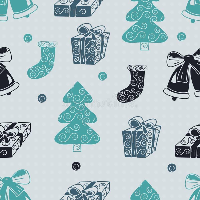 Christmas Seamless Stock Photo