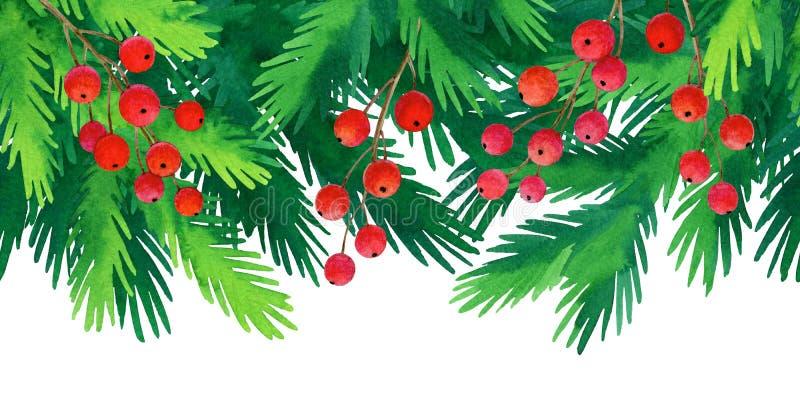 Christmas seamless background. stock illustration