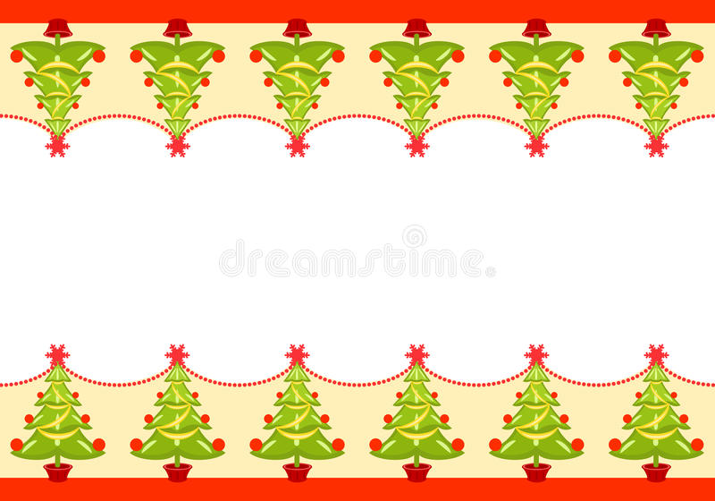 Download Christmas Seamless Border Royalty Free Stock Images - Image: 12542679