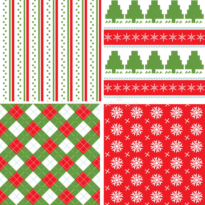 Download Christmas seamless pattern stock vector. Image of card - 10330323