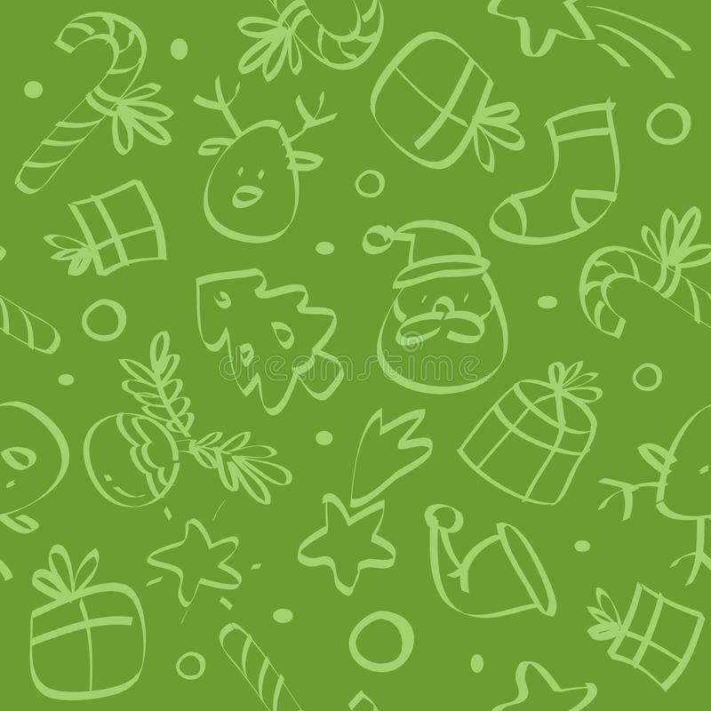 Download Christmas seamless pattern stock vector. Image of festive - 11440883