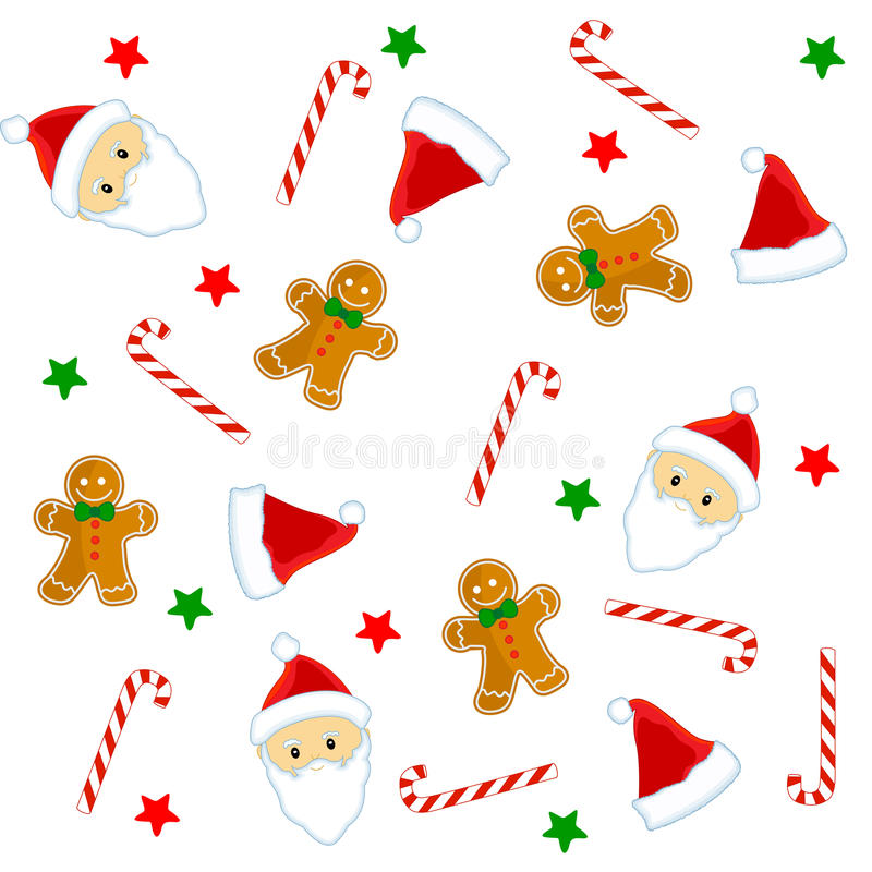 Download Christmas seamless pattern stock vector. Image of clipart - 11577999