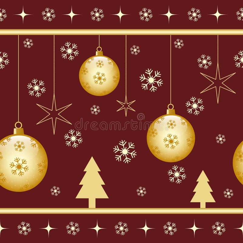 Download Christmas seamless pattern stock vector. Image of illustration - 19475969