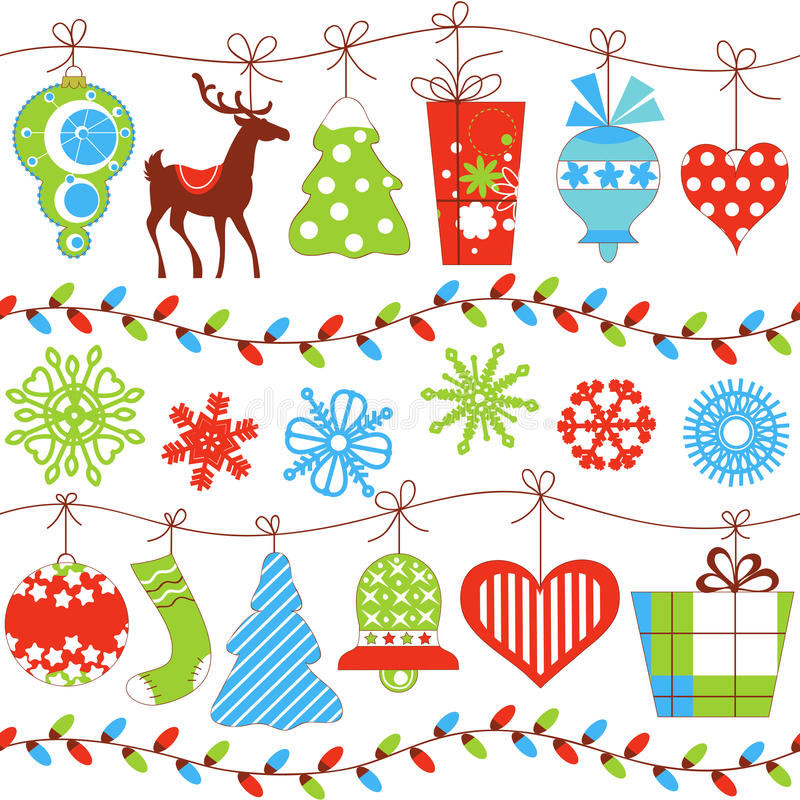 Free Christmas Seamless Pattern Stock Images - 21947734