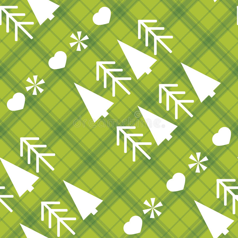 Download Christmas Seamless Pattern With Christmas Trees Royalty Free Stock Photo - Image: 27087655