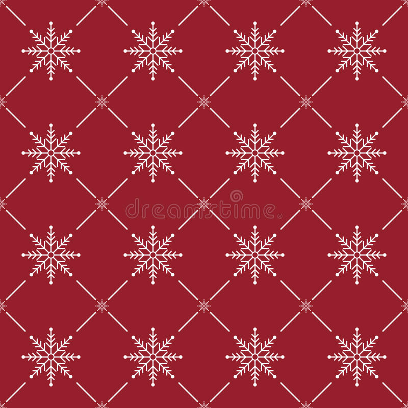 Christmas Seamless Pattern royalty free stock images