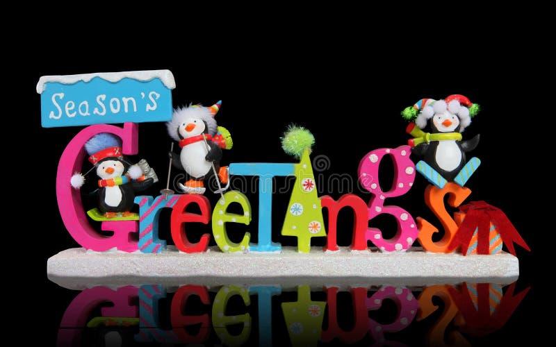 Download Christmas Season's Greeting Sign Stock Image - Image: 17200977