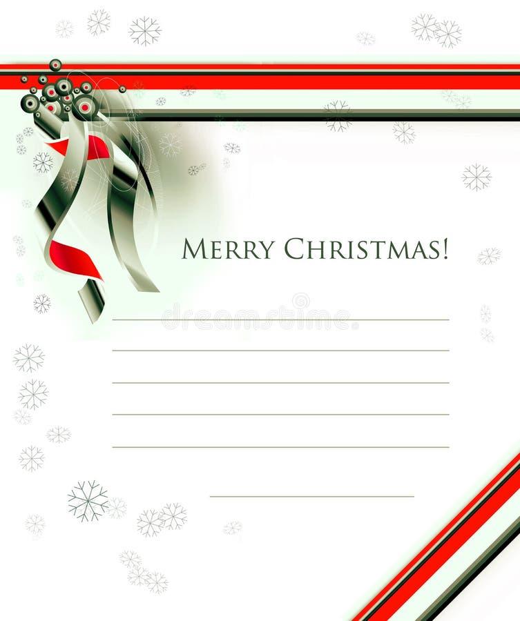 Free Christmas Seasons Postcard Stock Photography - 3200912