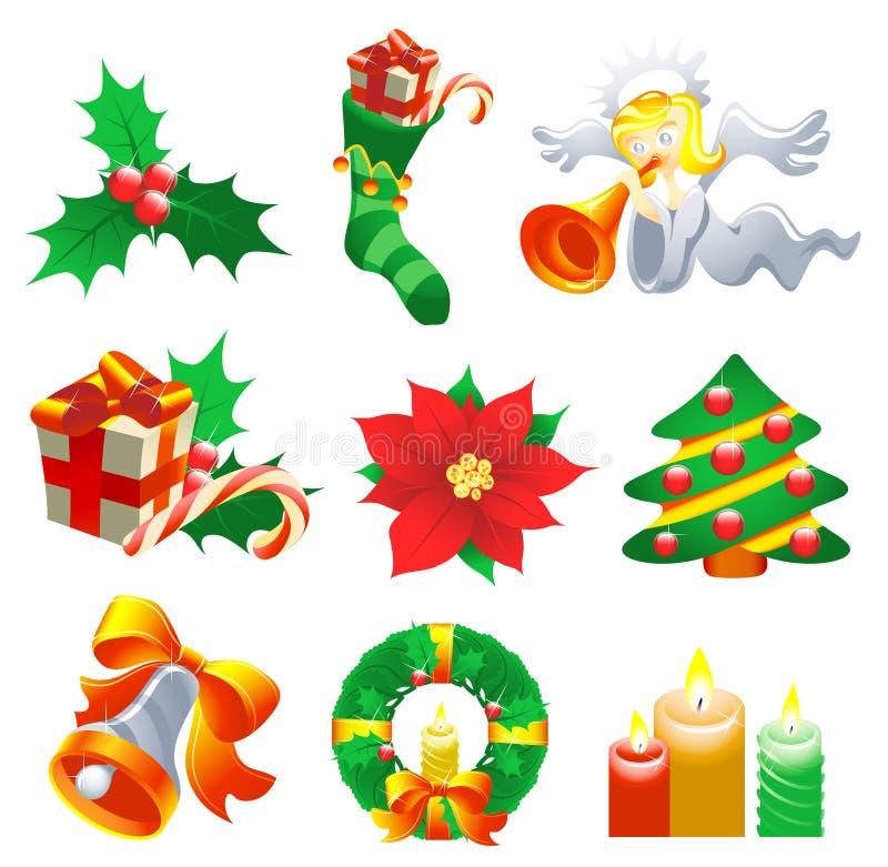 Christmas Set stock image