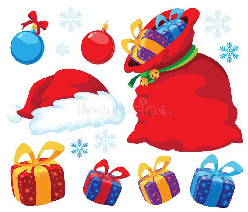 Download Christmas Set Stock Photography - Image: 22010552