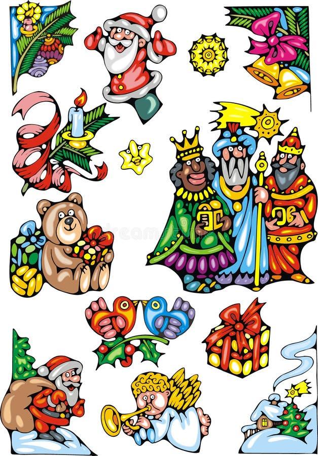 Download Christmas Set Stock Image - Image: 34655911
