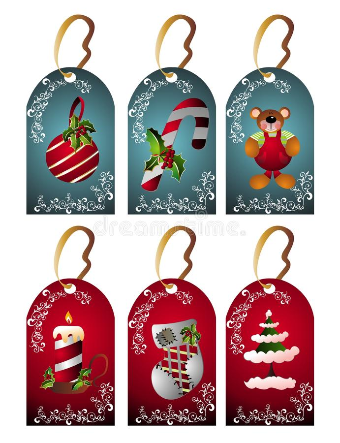 Download Christmas Set Of Tags Royalty Free Stock Photo - Image: 11610595