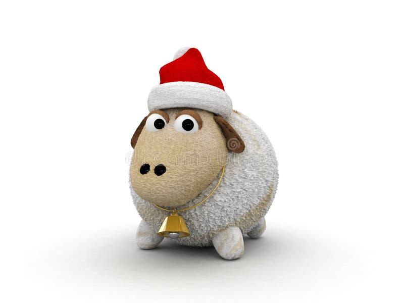 Download Christmas sheep stock illustration. Illustration of dialog - 15672698