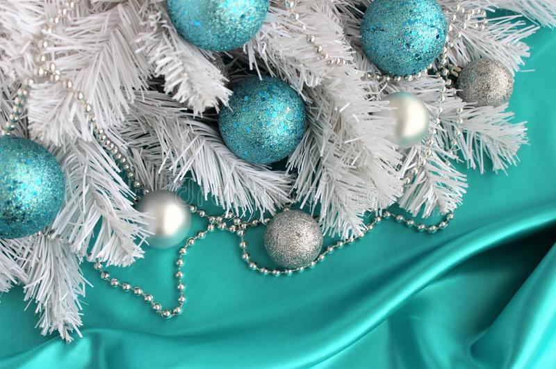 Christmas toy. Festive background, texture. royalty free stock images