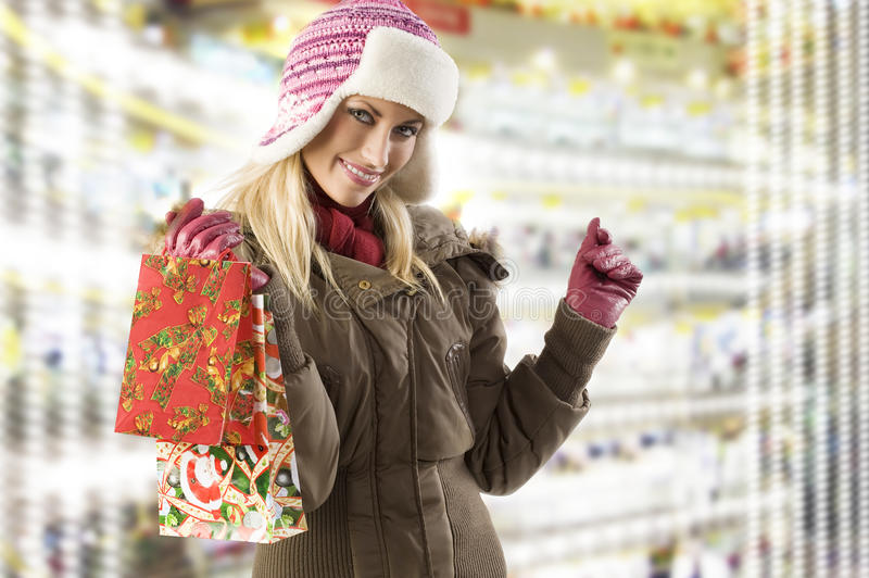 Download Christmas shopping stock image. Image of happy, donate - 11619853