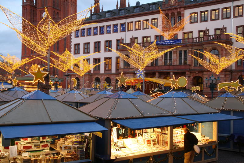 Download Christmas Shopping editorial stock image. Image of hessen - 12117744