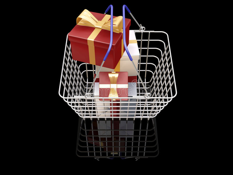 Download Christmas Shopping Royalty Free Stock Photo - Image: 1411615