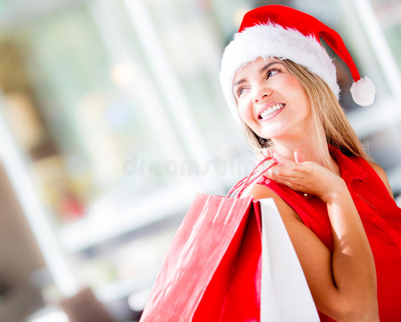 Download Christmas shopping stock photo. Image of attractive, purchase - 27951020