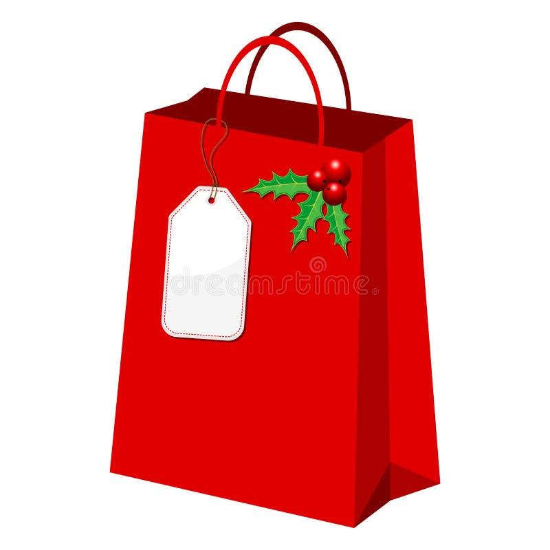 Download Christmas shopping bag stock vector. Image of christmas - 16338262
