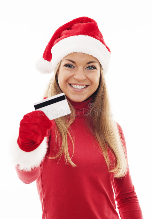 Download Christmas shopping stock image. Image of beautiful, hair - 33128283