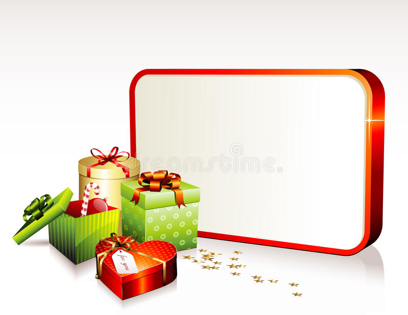 Download Christmas sign stock vector. Image of golden, invitation - 10627415